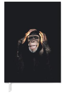 Monkey Hear No Evil Personal Planner