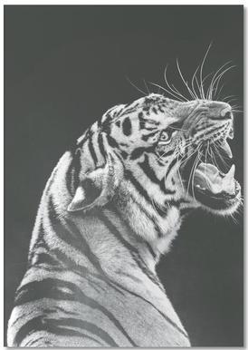 Grey Tiger Notepad