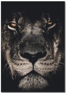 Dark Lion Notizbuch