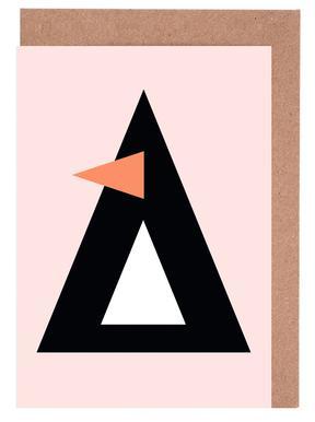 Cher the Penguin -Grußkarten-Set