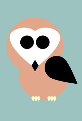 Celine the Owl -Alubild