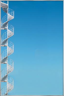 Stairway To Heaven As Poster In Standard Frame Juniqe
