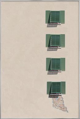 Islamorada -Poster im Alurahmen