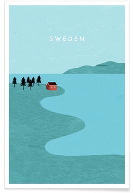 Schweden Affiche