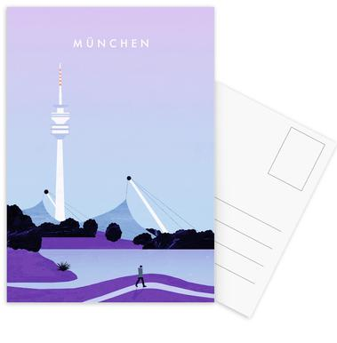München Postcard Set
