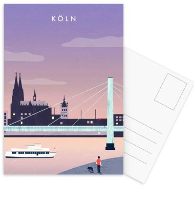Köln Postcard Set