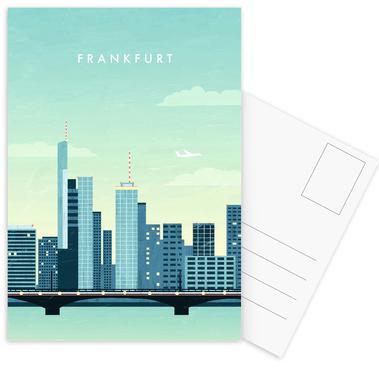 Frankfurt Postcard Set