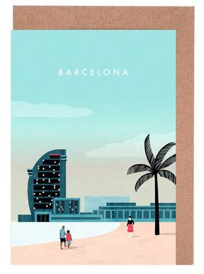 Barcelona wenskaartenset