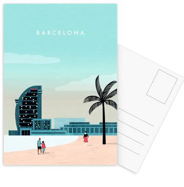 Barcelona Ansichtkaartenset