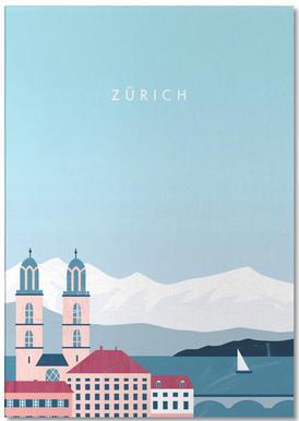 Zürich Notizblock