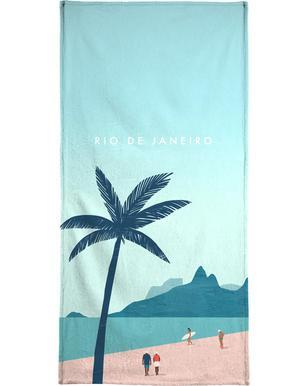 Rio De Janeiro handdoek
