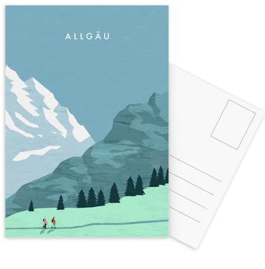 Allgäu Postkartenset