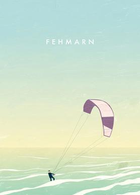 Fehmarn Canvas Print