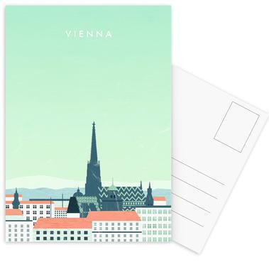 Wien Postcard Set
