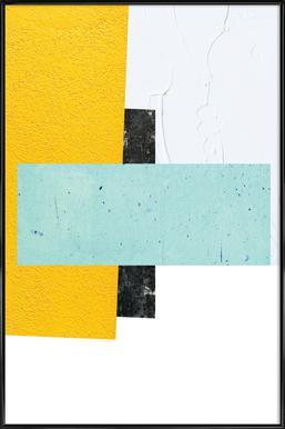 1,3 -Bild mit Kunststoffrahmen