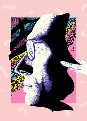 Cyborg Art Impression sur toile