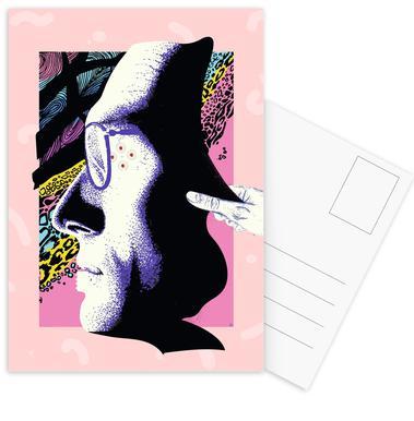 Cyborg Art Set de cartes postales