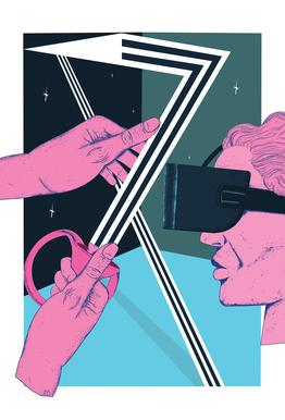 VR Temptation Impression sur alu-Dibond
