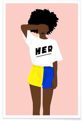 Her I affiche