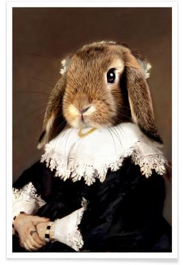 Miss Bunny Rabbit -Poster