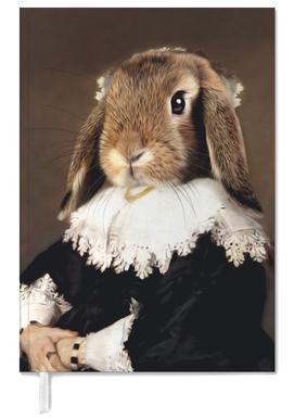 Miss Bunny Rabbit Personal Planner
