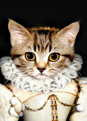 Miss Poes Canvas Print
