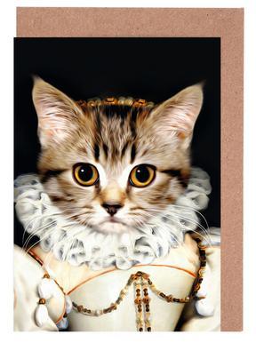 Miss Poes Set de cartes de vœux