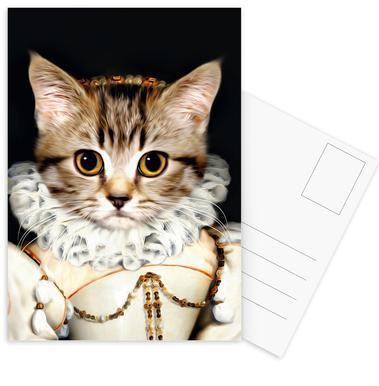 Miss Poes Postcard Set