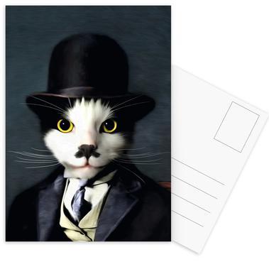 Charlie Set de cartes postales