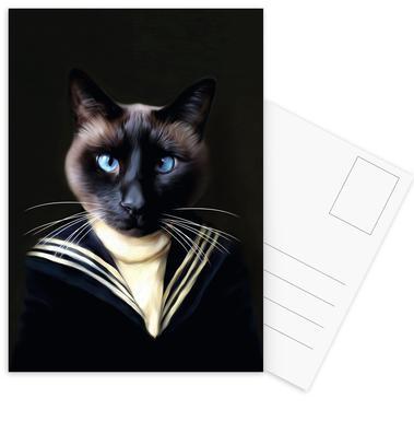 Dorus the Sailor -Postkartenset