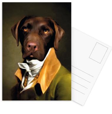 Teun cartes postales