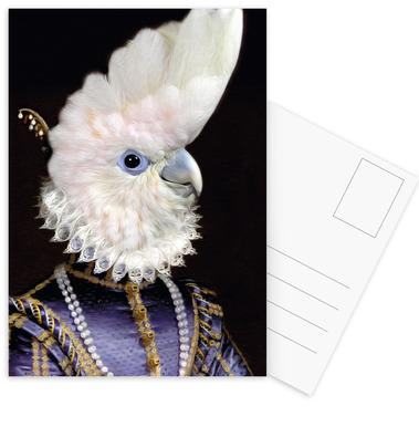 Lady Kaka Set de cartes postales
