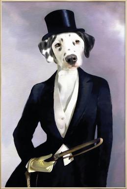 Lady Dalma Poster in Aluminium Frame