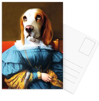 Elfie -Postkartenset