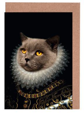 Golden Eyes Greeting Card Set