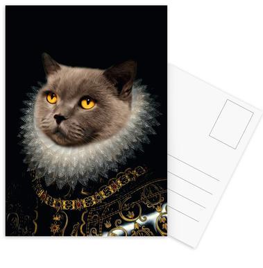 Golden Eyes Postcard Set