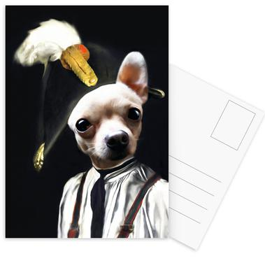 Petit Pablo -Postkartenset