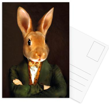Buster Postcard Set