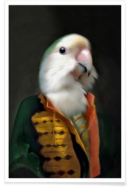 Papagaai Daan -Poster