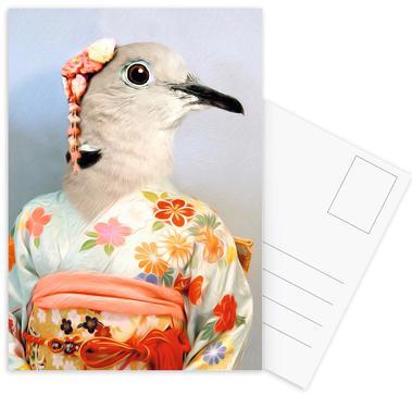 Toki Set de cartes postales