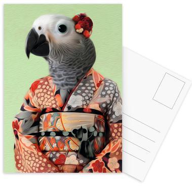 Miss Parrow Postcard Set