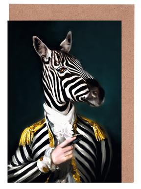Mister Stripe Greeting Card Set