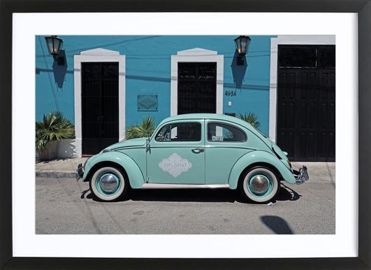 Mexican Beetle 27 -Bild mit Holzrahmen