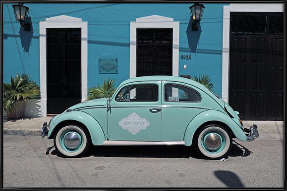 Mexican Beetle 27 affiche encadrée