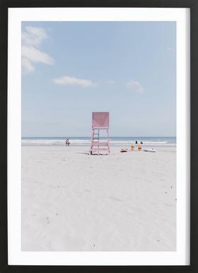 Lookout by @drewwrightt affiche encadrée