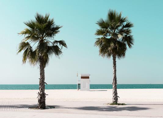 Beach Blue by @tmstefanko Canvas Print