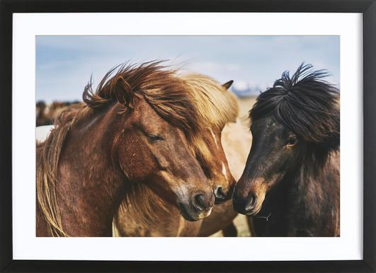 Three Musketeers 1 by @dorukyemenici Framed Print