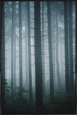 Morning Mist by @goldenhourpictures -Bild mit Kunststoffrahmen