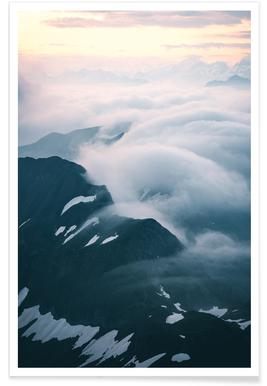 A Curtain of Clouds by @noberson Affiche