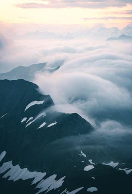A Curtain of Clouds by @noberson Impression sur alu-Dibond